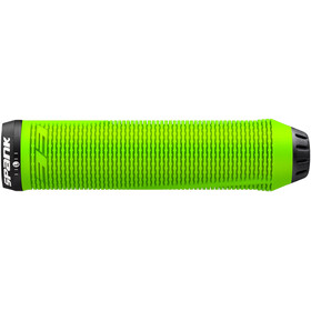 Spank Spike 33 Lock-On Handvaten, green
